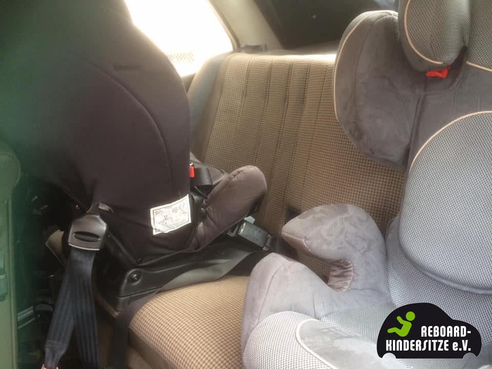 Reboarder und Folgesitz im 3-Türer