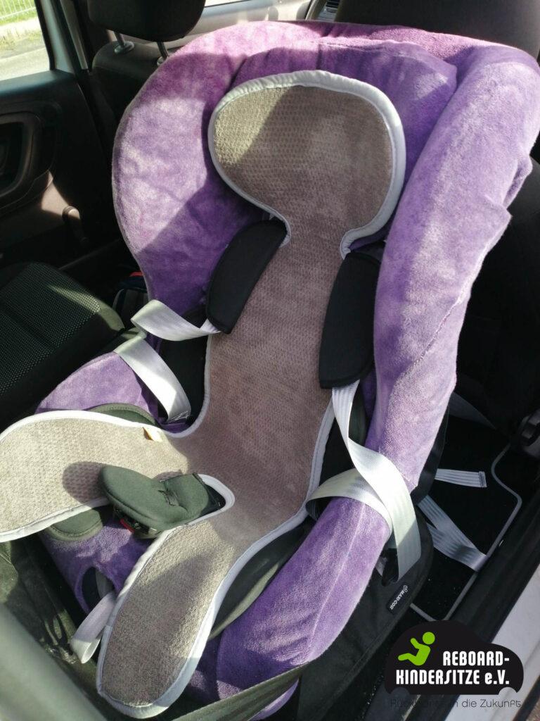 Reboarder mit Matte für eine bessere Luftzirkulation